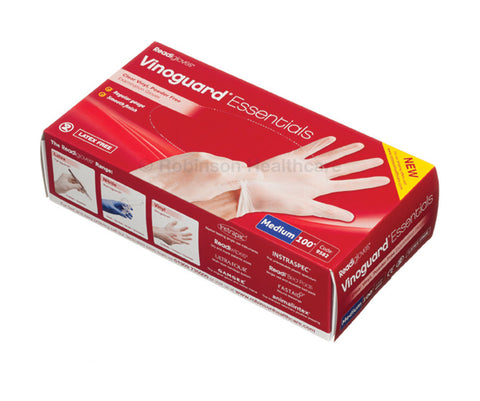 Robinsons Vinoguard Essentials Latex Free Vinyl Gloves - 100 pairs