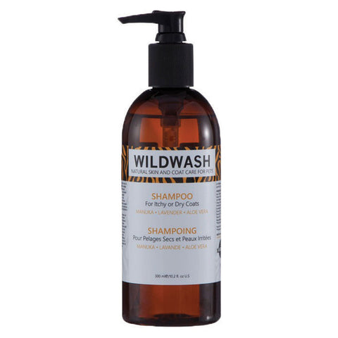 Wild Wash Dog Shampoo for Itchy or Dry Coats