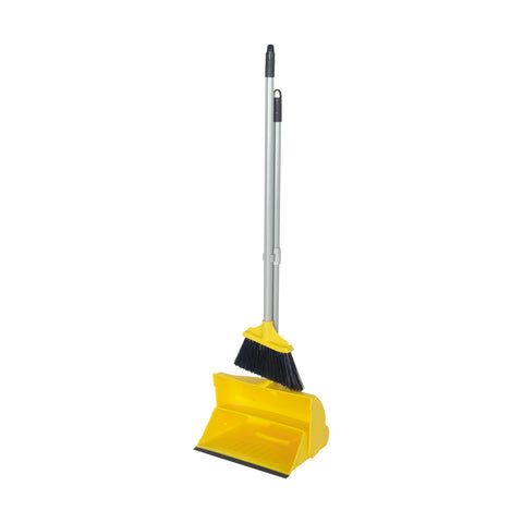 Angle Lobby Broom with Lobby Dustpan