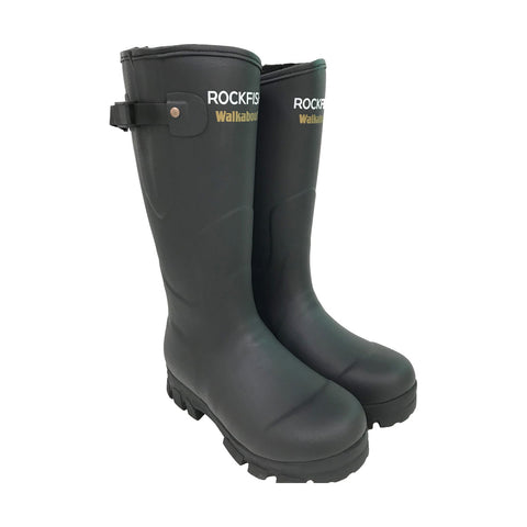 Rockfish Neoprene Lined Walkabout Wellington Boots