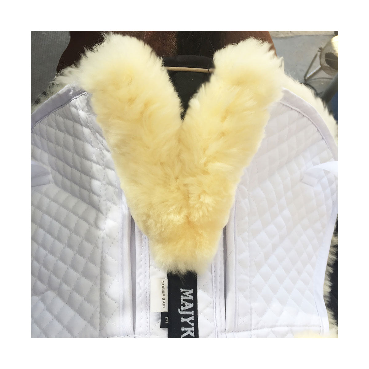 Majyk Impact Sheepskin Half Pad - Wither Relief