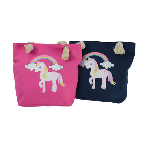 Unicorn Tote Bag by Little Rider