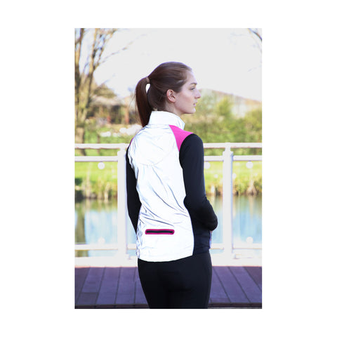 HyVIZ Silva Flash Two Tone Reflective Gilet