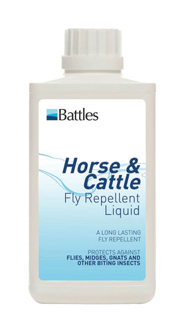 Battles Horse & Cattle Fly Repellent Liquid