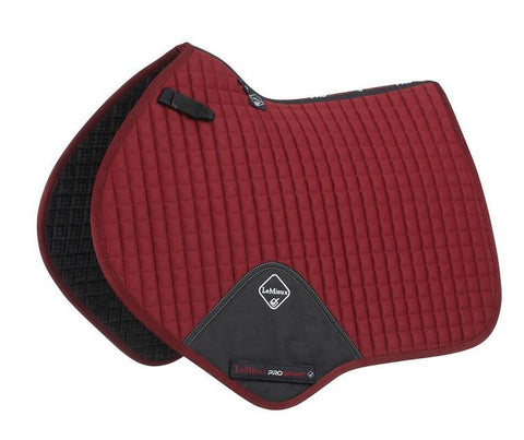 LeMieux ProSport Cotton Close Contact Square Saddlepad