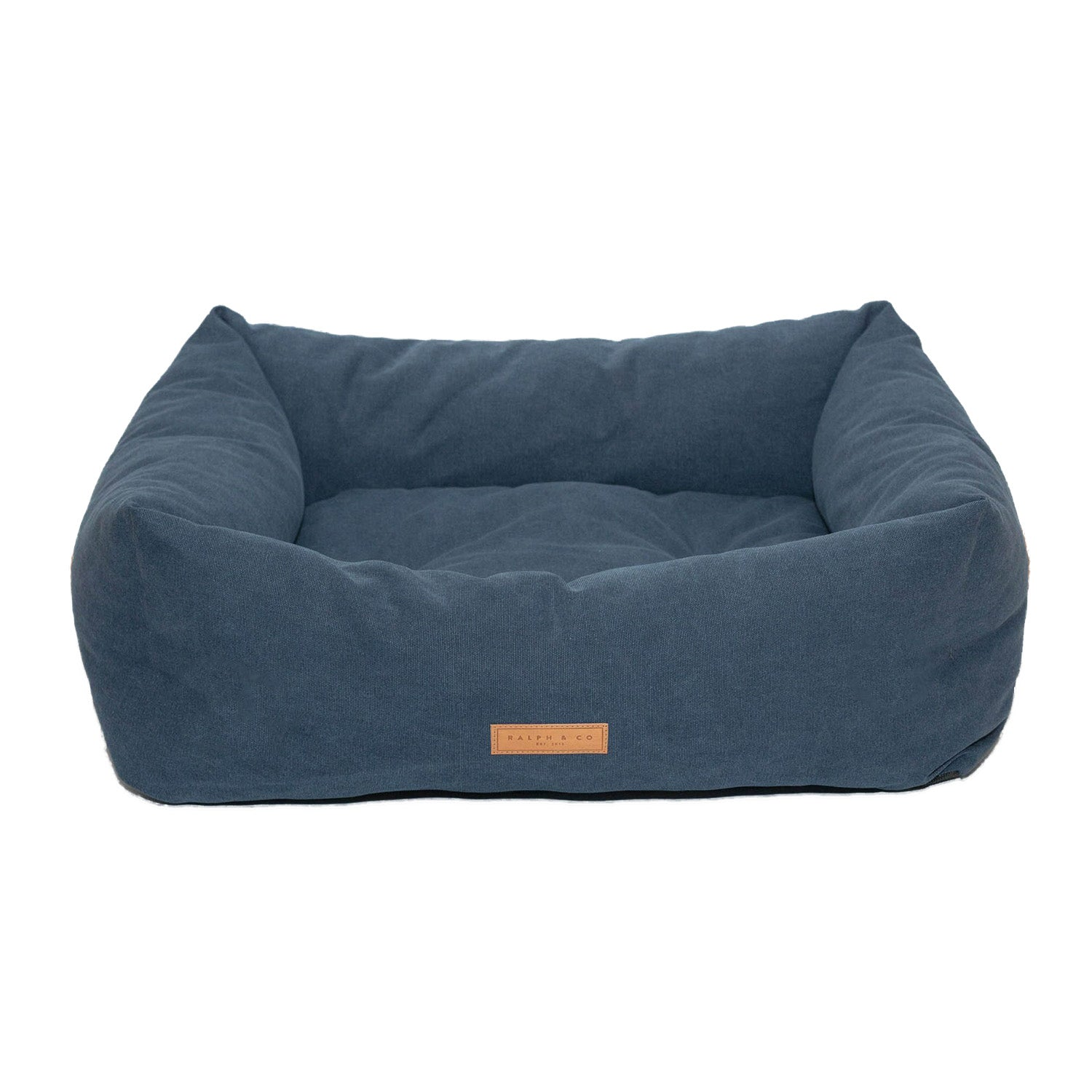 Ralph & Co Nest Bed Stonewashed Fabric Kensington Royal Blue
