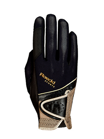 Roeckl Madrid Gloves Black/Gold