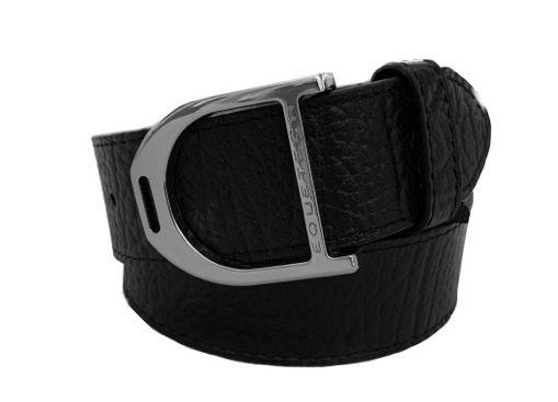 STIRRUP LEATHER BELT 35MM - BLACK