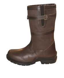 Mark Todd Short Leather Country Boots