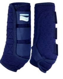 Equilibrium Stretch & Flex Flatwork Wraps Navy