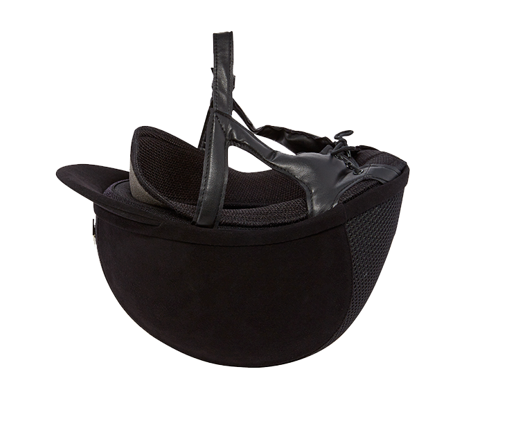 Charles Owen Ayr8 Plus Suede Riding Hat ( Round Profile)