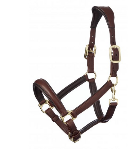 Lemieux Anatomic Leather Headcollar