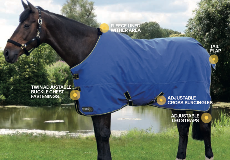 StormX Original 100g Turnout Rug