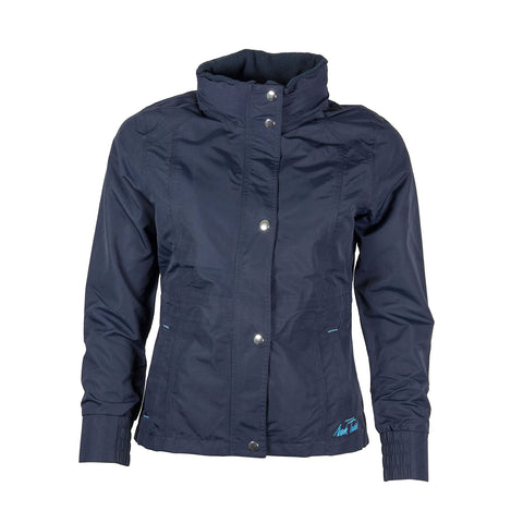 Mark Todd Jacket Padded Waterproof Kids Navy/Aqua