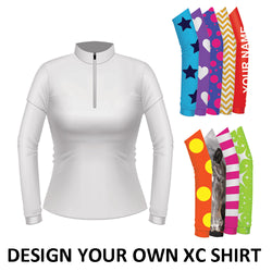 Equetech Womens Custom Cross Country Shirt - White