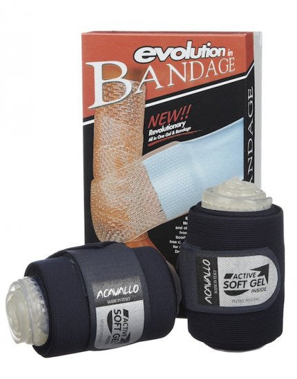 Acavallo Gel Leg Bandages Fleece