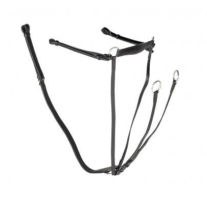 Gallop Leather Breastplate Martingale