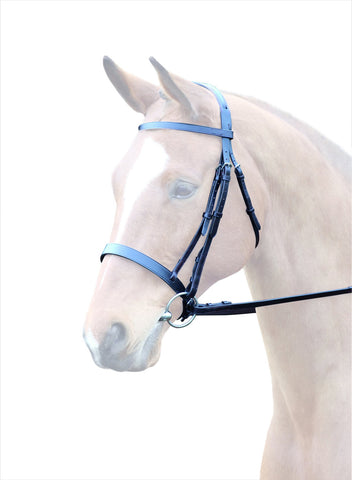 Bridleway Lavello Leather Cavesson Bridle