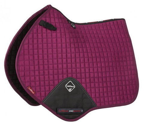 LeMieux ProSport Suede Close Contact Square Saddlepad
