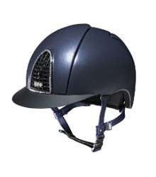 KEP Cromo Shine with Crystals Riding Hat