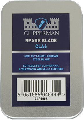 Clipperman CLA6 German Steel Blade Set