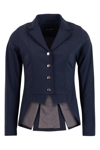 Dressage Show Softshell Jacket - Short Tailcoat, Navy