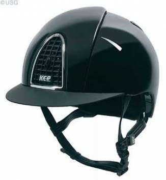 KEP Cromo Air Control Shine Riding Hat