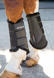 Arma Fur Lined Brushing Boots
