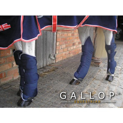 Pink or Navy Pony Gallop Nylon Lined Ripstop Travel Boots