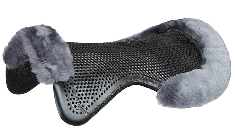 Acavallo Just-Gel Lambskin Half Pad