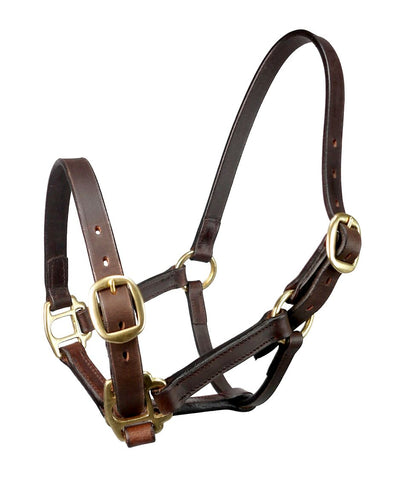 John Whitaker Leather Breeder Headcollar
