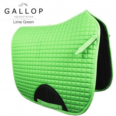 Gallop Quilted Dressage Saddle Pad