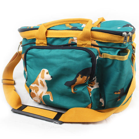 Gallop Dogs Print Grooming Bag