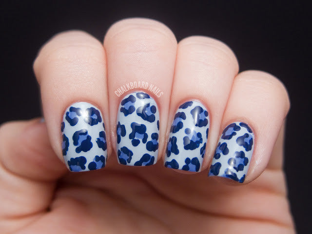 Leopard Print Manicure... Video tutorial