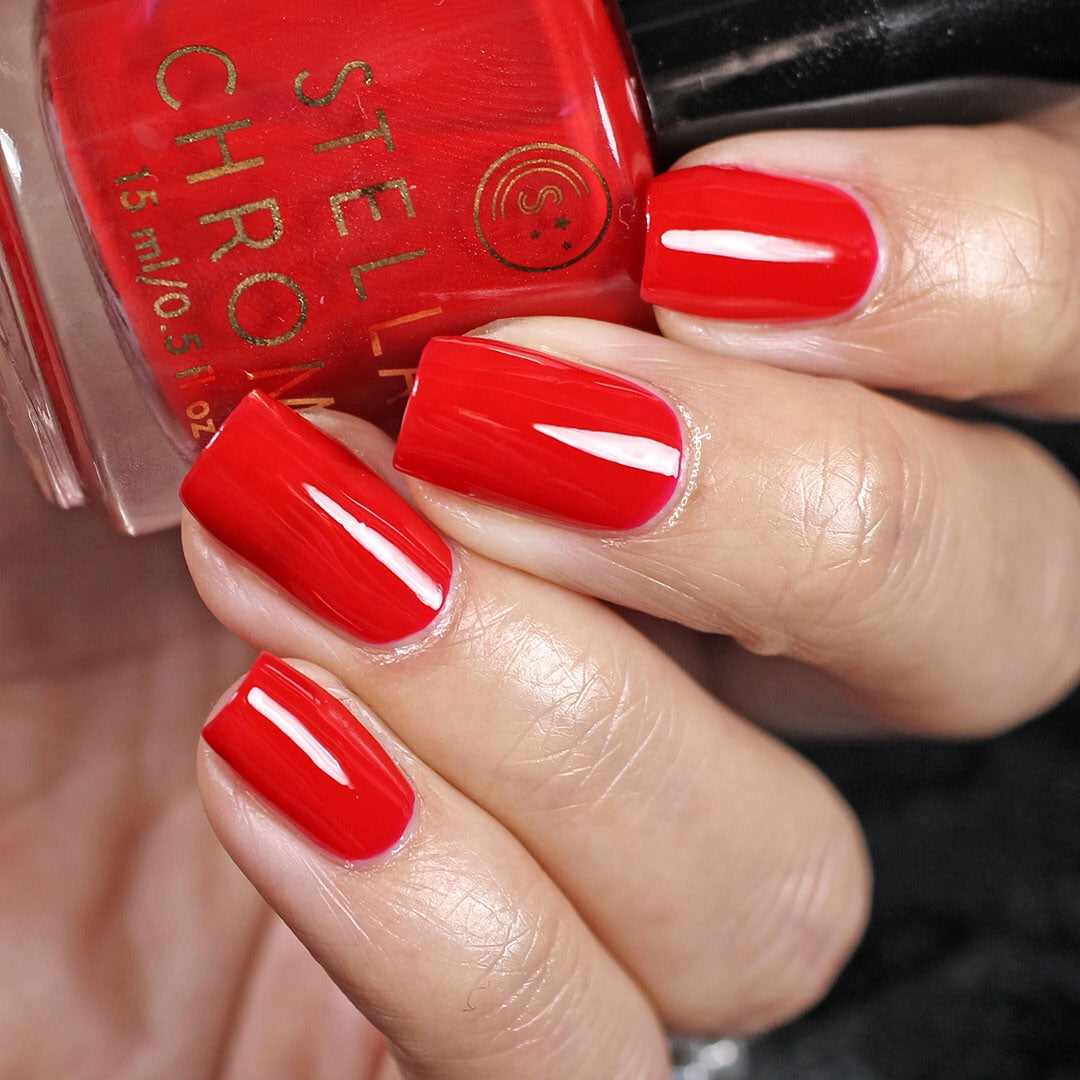 Classic Red-Nail Polish-STELLA CHROMA