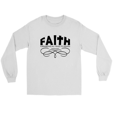Faith Long Sleeve Unisex Tee