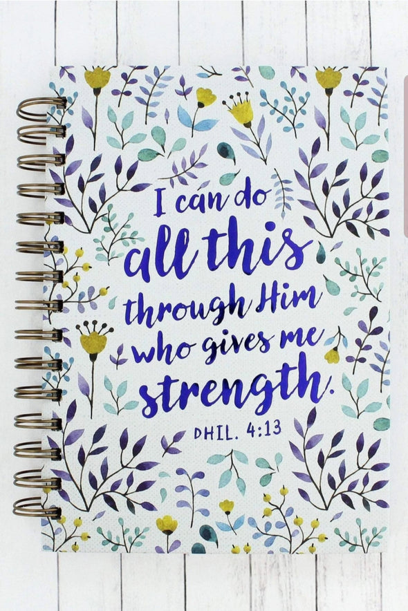 All This Through Him Journal
