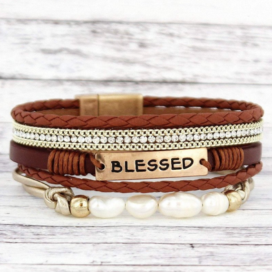 Blessed Multi-Strand Magnetic Bracelet