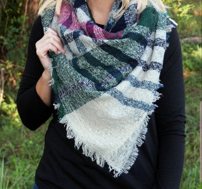 Appalachian Autumn Blanket Scarf