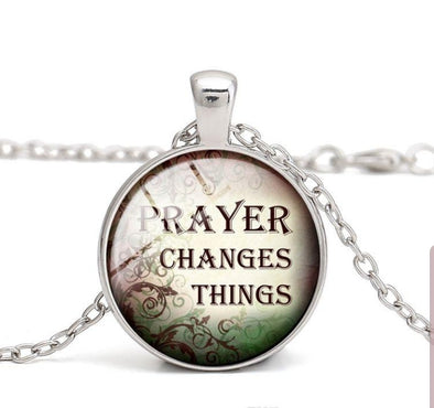 Prayer Changes Things Necklace