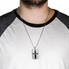 """The Lord is My Strength"" Dog tag Necklace"