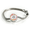 """Trust In the Lord"" Pandora Style Charm Bracelet"