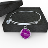 All Things Are Possible with God Bangle Bracelet