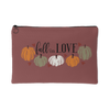 fall in LOVE Pumpkin Accessory Pouch