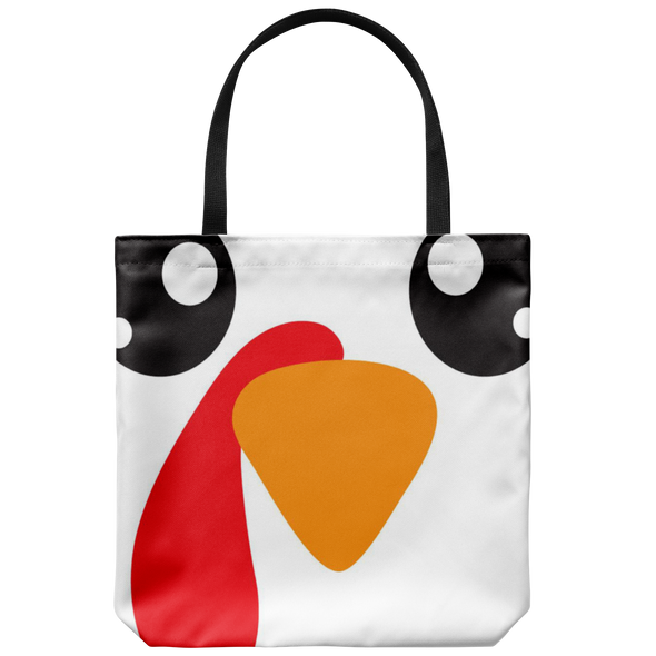 Turkey Face Tote