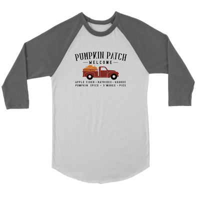 Pumpkin Patch Baseball Tee