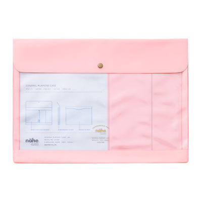 Portadocumentos Nahe General Purpose Case A4 | Rosa