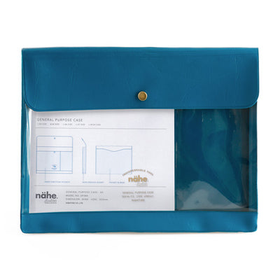 Portadocumentos Nahe General Purpose Case A5 | Azul