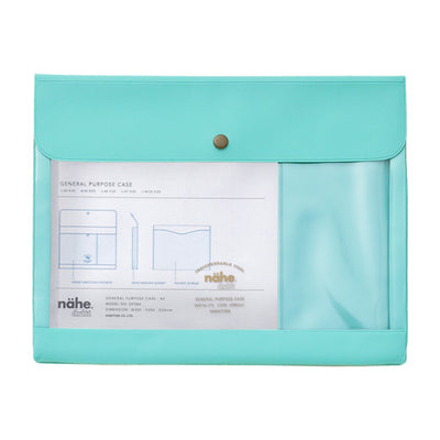 Portadocumentos Nahe General Purpose Case A5 | Menta