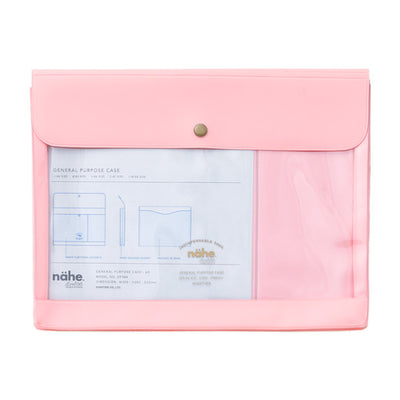 Portadocumentos Nahe General Purpose Case A5 | Rosa